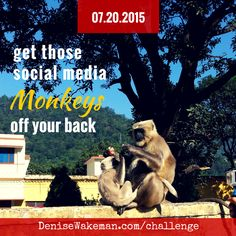 Join the 30 Day Online Visibility Challenge with Denise Wakeman. Details here: http://denisewakeman.com/challenge