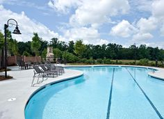 Swimming pool with lap lane, exercise and fun!