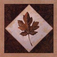 Diamond Leaves I  Fine Art Print