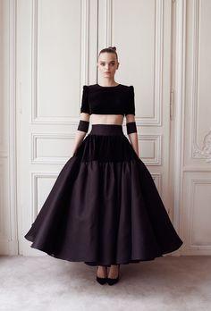Robe du soir crinoline Marius - Automne-hiver 14 15 - Couture Campagne - Delphine Manivet