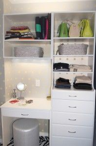 An Urban Renovation with Novembrino Feliciano – Part 4 Basement Remodeling, Remodeling Ideas, Wardrobe Systems, Simple Closet, Custom Vanity, Home Organization Hacks, Getting Organized, Easy Closets, House Tours