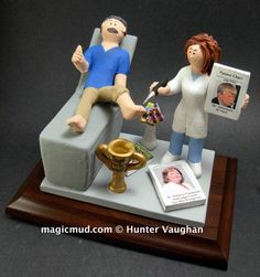 Podiatrist's Figurine  www.magicmud.com    1 800 231 9814    magicmud@magicmud.com $225  Personalized #Medical Gift Figurines, custom created just for you!    Perfect present for all #Doctors, a  heartfelt gift for birthdays, graduations, anniversaries, n Christmas Gifts For Mom, Personalized Christmas Gifts, Gifts For Dad, Forehead Lift, Custom Made Gift, Gifts For Dentist, Doctor Gifts, The Ultimate Gift, Rhinoplasty