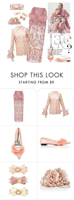 The Lady in Lace by lenro on Polyvore featuring Diana Kvariani, Madiyah Al Sharqi, I.D. SARRIERI, Rochas, Oasis and Monsoon