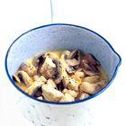 Een heerlijk recept: Kip met champignons in crème fraîche