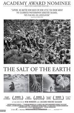 O Sal da Terra (The Salt of The Earth - 2014) Dir: Juliano Ribeiro Salgado e Win Wenders.