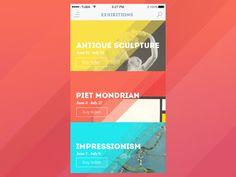 GIF for Art Gallery App by Tubik Studio