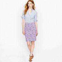 #Jcrew                    #Skirt                    #pencil #skirt #medallion #paisley                  No. 2 pencil skirt in medallion paisley                                       http://www.seapai.com/product.aspx?PID=1203940