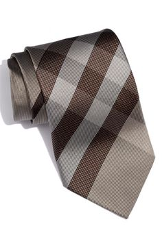 Love this Burberry woven silk tie.