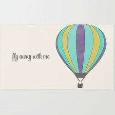 hot air balloon rug - Google Search