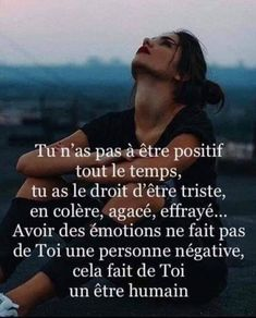 Tu n'as pas à être positif tout le temps - Inspirations pour réussir sa vie Positive Attitude, Positive Quotes, Motivational Quotes, Inspirational Quotes, Zen Attitude, Words Quotes, Life Quotes, Faith Quotes, Einstein