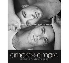 Joyería urbana en plata para personas con estilo de vida avant-garde. @Fabricio Gros Fb: Amore+amore