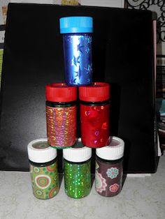 Repurpose old prescription bottles and make Pillo Bottle Maracas!