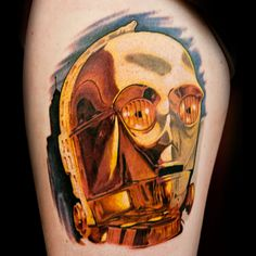 Check out this high res photo of Jesse Smith's tattoo from the Star Wars episode of Season 2 of Ink Master on Spike.com.