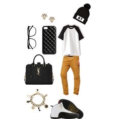 Untitled #28 by sneakerhead1500 on Polyvore featuring polyvore, fashion, style, Won Hundred, ASOS, TAXI, Yves Saint Laurent, Karl Lagerfeld, The Case Factory, River Island and H&M