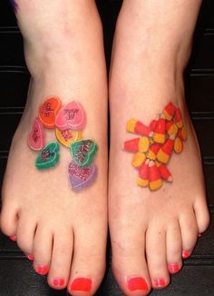 1000 images about candy tattoos on pinterest candy for Candy corn tattoo