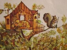 Miss Suzy always swept her tree house