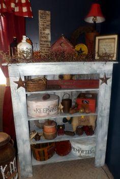 primitive decorating | Primitive decor | country stuff