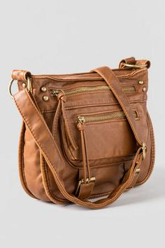 Peoria Washed Crossbody