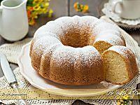 Ciambella alla vaniglia soffice ricetta | Ho Voglia di Dolce