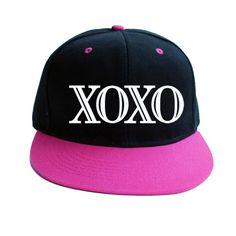 Kpop EXO XOXO WOLF baseball hat Adjustable Snapback cap