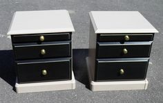 IPPLEPEN INTERIORS : A Pair Of Vintage Bedside Chests – Ipplepen Interiors