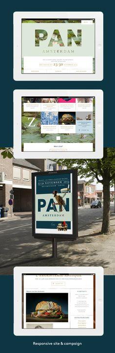 PAN De eigentijdse beurs voor kunst, antiek en design - Portfolio of Twan Minten #Webdesign #Print