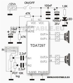 1 million+ Stunning Free Images to Use Anywhere Electronic Circuit Design, Electronic Engineering, Electrical Engineering, Amplificador 12v, Subwoofer Box Design, Electronic Schematics, Electrical Installation, Stereo Amplifier, Circuit Diagram