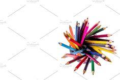 Back to school concept , Restaurant Website Templates, Colored Pencils, Back To School, Concept, Colouring Pencils, Entering School, Back To College, Crayons