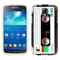 Samsung Galaxy S4 Active Retro FE90 Tape Cassette Case:Amazon:Cell Phones & Accessories