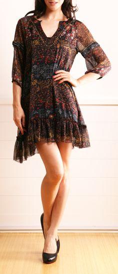 love this little boho dress.