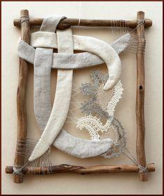 Агнес Херцег, Венгрия.  Плетение из нитей - коклюшки, иглоплетение.