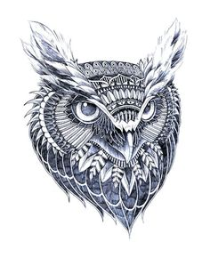 owl head | Tumblr