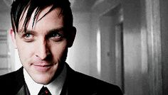 #Gotham Penguin will steal your soul XD ^^ literally looking right at the camera, definitely stole my soul