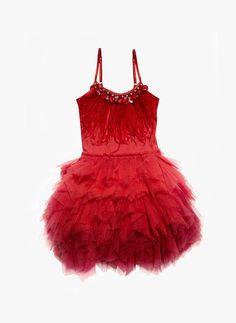 Tutu Du Monde Queen of Hearts Tutu Dress in Rhubarb