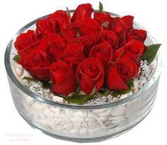19.- Centros de Mesa con Rosas