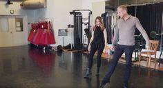 À voir: la pratique de ballet de Julie Snyder   HollywoodPQ.com