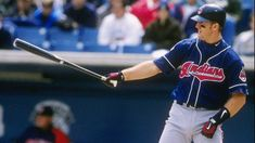 """Cleveland Slugger Jim Thome Retires After Signing One-Day Contract. Always a member of the """"Tribe""""! Baseball Helmet, Twins Baseball, Baseball Jerseys, Baseball Cards, Mlb Players, Baseball Players, Jim Thome, Albert Pujols, Cleveland Indians Baseball"""