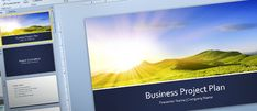 Free Business Project Plan Template for #PowerPoint 2013