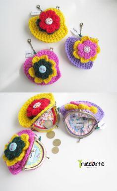 Monederos de Lana / Purses of wool