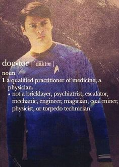 Star Trek. Bones