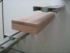 """Mais um """"protótipo"""" desenvolvido para um perfeito acabamento da obra – Degrau das escadas metálicas de acesso às águas furtadas. O degrau é feito para encaixar na estrutura metáli…"""