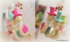 very cute crochet snail pattern - sadly in Russian but looks easy enough of a design to figure out without a pattern