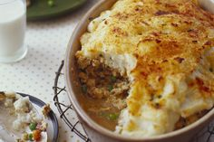 This easy-to-make Turkey & Veggie Shepherd's Pie is a hearty main dish chock-full of vegetables. Your family will want to enjoy this Easy Shepherd's Pie recipe every night of the week! Kraft Recipes, Beef Recipes, Cooking Recipes, Turkey Recipes, Chicken Recipes, Recipies, Casserole Dishes, Casserole Recipes, Beef Stroganoff Casserole Recipe
