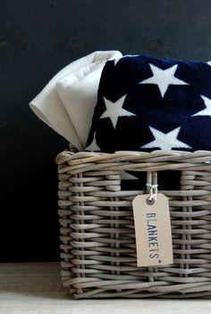 basket | American flag