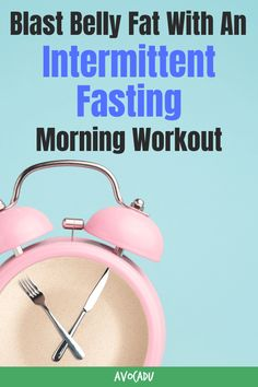 Intermittent fasting, also known as IF, is limiting your window of eating to only a few hours a day. In doing so, you deplete your stored glycogen and force your body to burn fat for fuel, and adding a light morning workout will help you torch belly fat fast! Read more about the different types of intermittent fasting, plus the best morning workout routine to pair with it for maximum weight loss in our newest article! #avocadu #intermittentfasting #loseweight #losebellyfat Lose Weight In A Month, Diet Plans To Lose Weight, How To Lose Weight Fast, Weight Loss For Women, Easy Weight Loss, Healthy Weight Loss, Intermittent Fasting Morning Workout, Morning Workout Routine, Exercise Routines