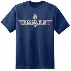 Mens Kessel Run T Shirt - Chest / Navy