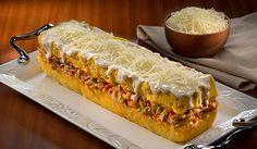 Pastel de Plátanos Maduros con Bacalao • Jacqueline Henriquez, Chef Food Styling - República Dominicana.