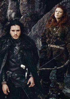 Jon Snow - Game of Thrones - love the leather
