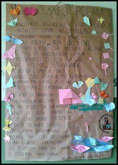 Pequenos Grandes Pensantes.: Mural com Poesias - E.E.Sandoval de Azevedo