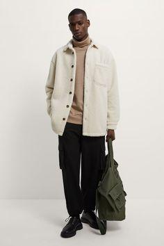Zara Fashion, Boy Fashion, Mens Fashion, Outfits Hombre, Zara Man, Tweed Blazer, Casual Looks, Ideias Fashion, Winter Outfits